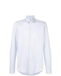 Camisa de vestir celeste de Dell'oglio
