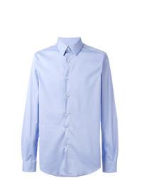 Camisa de vestir celeste de Fashion Clinic Timeless