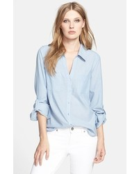 Camisa de vestir celeste de Joie