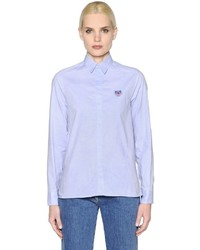 Camisa de vestir celeste de Kenzo