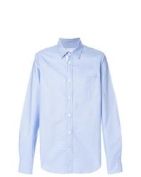 Camisa de vestir celeste de Sacai