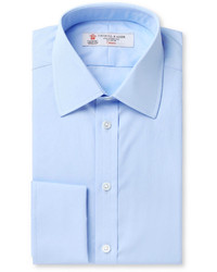 Camisa de vestir celeste de Turnbull & Asser
