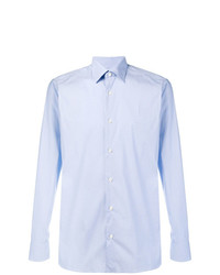 Camisa de vestir celeste de Z Zegna