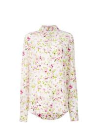 Camisa de Vestir con print de flores Blanca de Faith Connexion