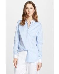 Camisa de vestir de cambray celeste de Nordstrom