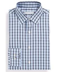 Camisa de vestir de cuadro vichy azul de Michael Kors