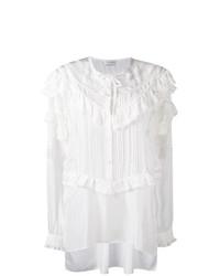 Camisa de Vestir de Encaje Blanca de Faith Connexion