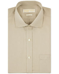 Camisa de vestir en beige