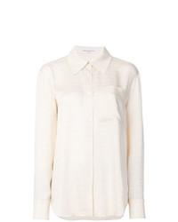 Camisa de vestir en beige de Sonia Rykiel