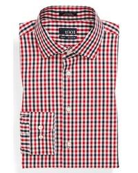 3f2707bcfb0 ... Camisa de vestir de cuadro vichy en blanco y rojo y azul marino de 1901