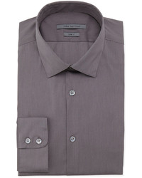 Camisa de vestir en gris oscuro