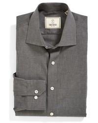 Camisa de vestir en gris oscuro de Todd Snyder