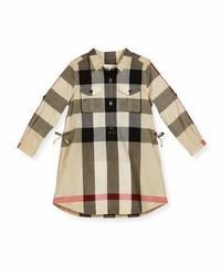 Camisa de vestir marrón claro de Burberry
