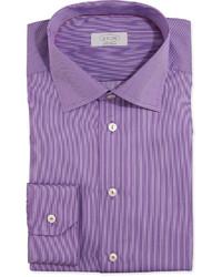 Camisa de vestir morado de Eton
