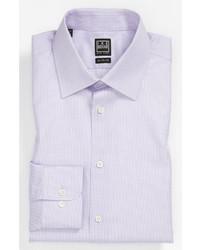 Camisa de vestir morado de Ike Behar