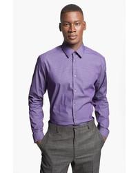 Camisa de vestir morado de Paul Smith