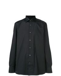 Camisa de vestir negra de Ermenegildo Zegna