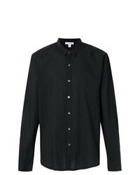 Camisa de vestir negra de James Perse