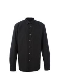 Camisa de vestir negra de John Varvatos