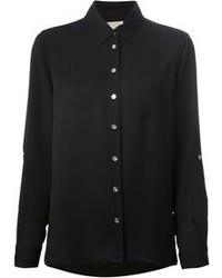 Camisa de vestir negra de MICHAEL Michael Kors