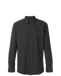 Camisa de vestir negra de Raf Simons