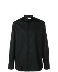 Camisa de vestir negra de Saint Laurent