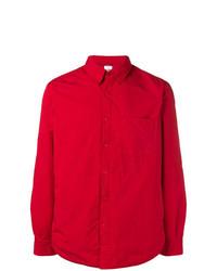 Camisa de vestir roja de Aspesi