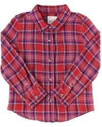 Camisa de vestir roja