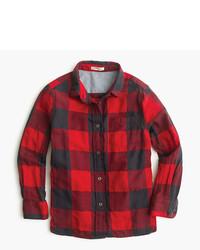 Camisa de vestir roja de J.Crew