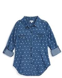 Camisa de vestir vaquera azul de Splendid