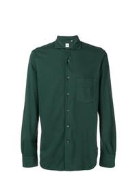 Camisa de vestir verde oscuro de Aspesi