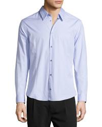 Camisa de vestir violeta claro de CNC Costume National
