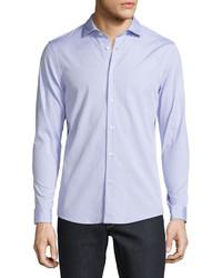 Camisa de vestir violeta claro de Michael Kors