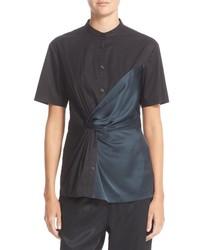 Camisa en gris oscuro de DKNY