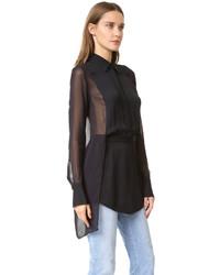 Camisa negra de DKNY