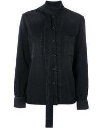 Camisa negra de Golden Goose Deluxe Brand