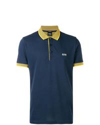 Camisa polo azul marino de BOSS HUGO BOSS