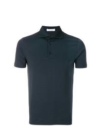 Camisa polo azul marino de Cruciani