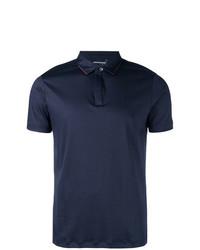 Camisa polo azul marino de Emporio Armani