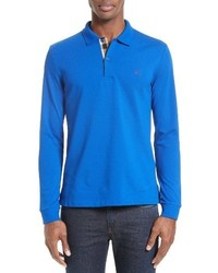 Camisa polo azul de Burberry