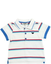 Camisa polo blanca de Armani Junior