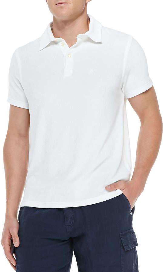 7298f5b84861b ... Camisa polo blanca de Vilebrequin ...