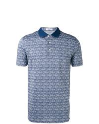 Camisa polo celeste de Fashion Clinic Timeless