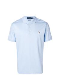 Camisa polo celeste de Polo Ralph Lauren