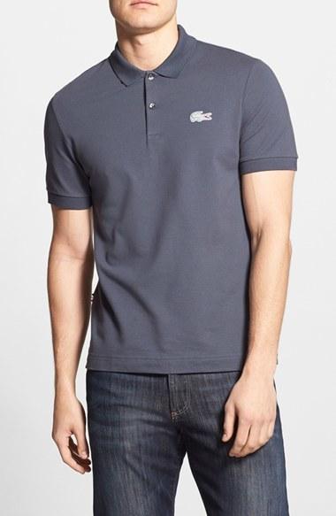 Camisa Polo Gris Oscuro de Lacoste  dónde comprar y cómo combinar 5a5c080090