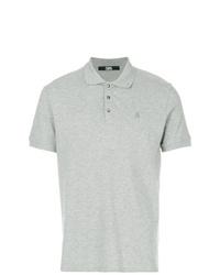 Camisa polo gris de Karl Lagerfeld
