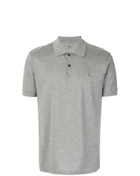 Camisa polo gris de Lanvin