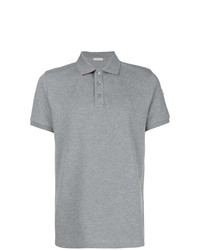 Camisa polo gris de Moncler