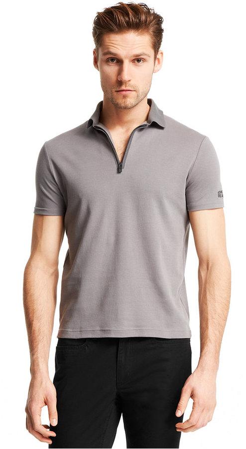 345fba5ed9328 Moda para Hombres › Camisetas › Camisas polo › Camisas polo grises Camisa  Polo Gris de Kenneth Cole Reaction