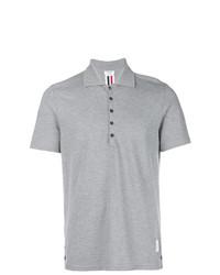 Camisa polo gris de Thom Browne